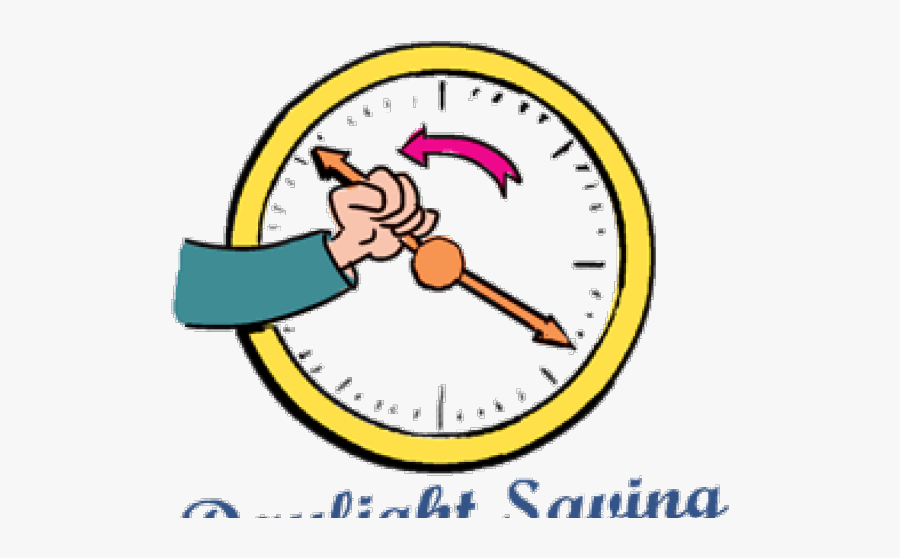 Fall Back Clipart - Daylight Savings Time Finished, Transparent Clipart