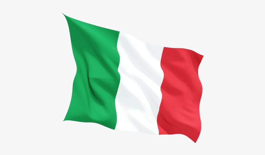 Italian Flag Classic - Italy Waving Flag Png, Transparent Clipart