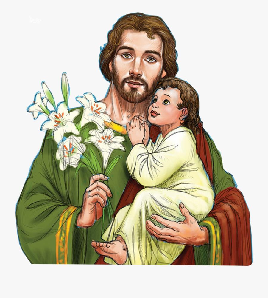 Clipart Saint Joseph - Saint Joseph The Worker Png, Transparent Clipart