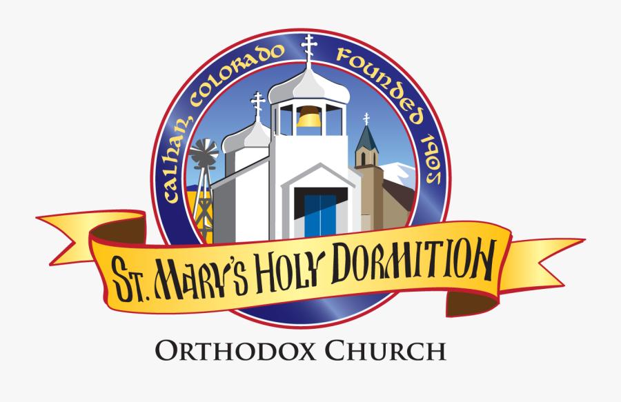 St Mary S Holy - Logo Orthodox Church, Transparent Clipart