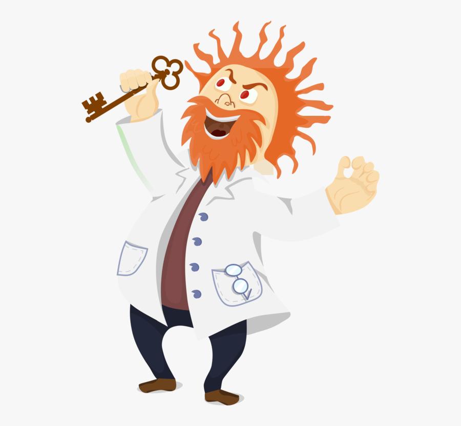 Human Behavior,art,thumb - Mad Scientist Png, Transparent Clipart