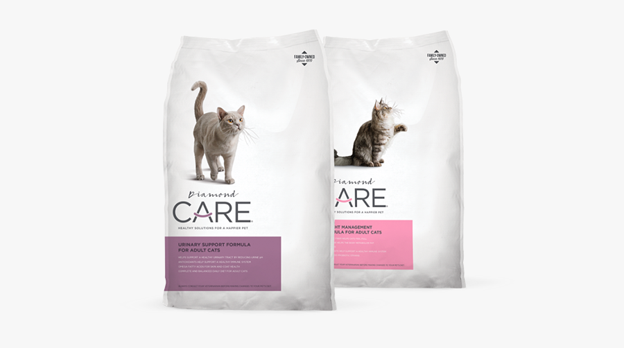 Diamond Pet Foods - Diamond Care Urinary Support For Adult Cats, Transparent Clipart