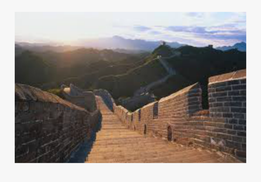 The Great Wall Of China - Great Wall Of China Tourist Attractions, Transparent Clipart