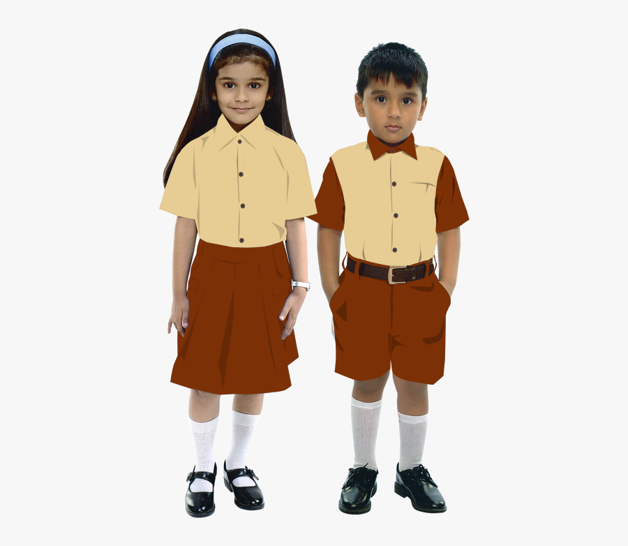 School Boy And Girl School Boy And Girl - School Girl And Boy, Transparent Clipart