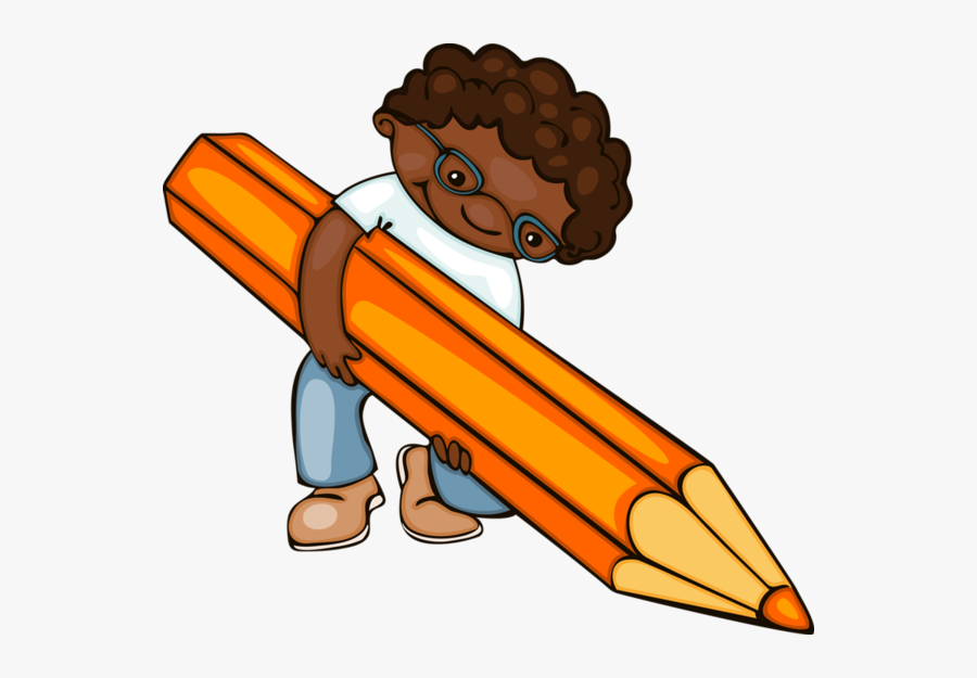 School Kids Draw, Transparent Clipart