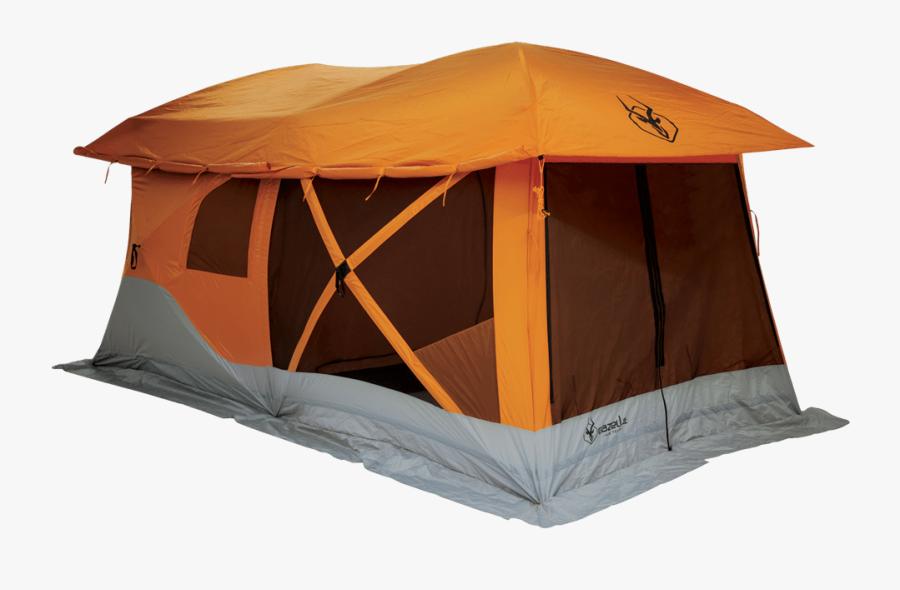 Gazelle Camping Hub Tent - Pop Up Camping Tent, Transparent Clipart