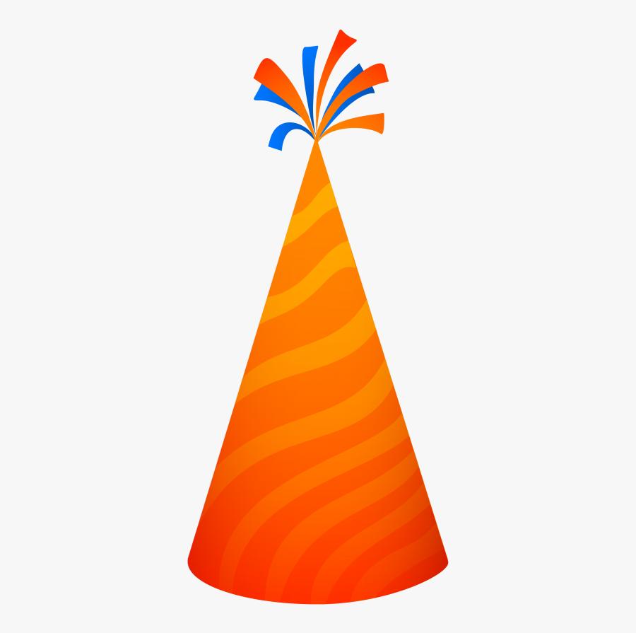 Clip Art Image Pngpix - Orange Party Hat Png, Transparent Clipart