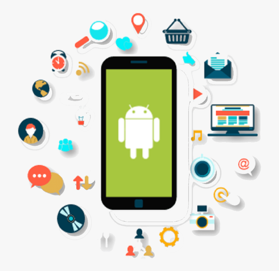 Android App Development In Chennai - Android Application Development, Transparent Clipart
