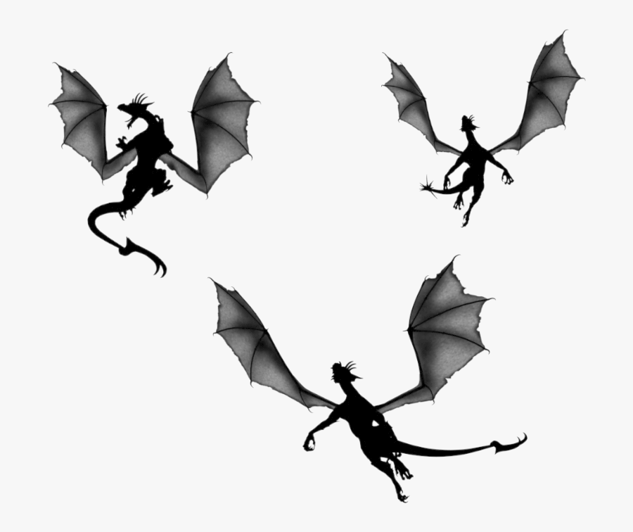 Game Of Thrones Dragon Silhouette Clip Art Silhouettes Game Of Thrones Dragon Silhouette Free Transparent Clipart Clipartkey