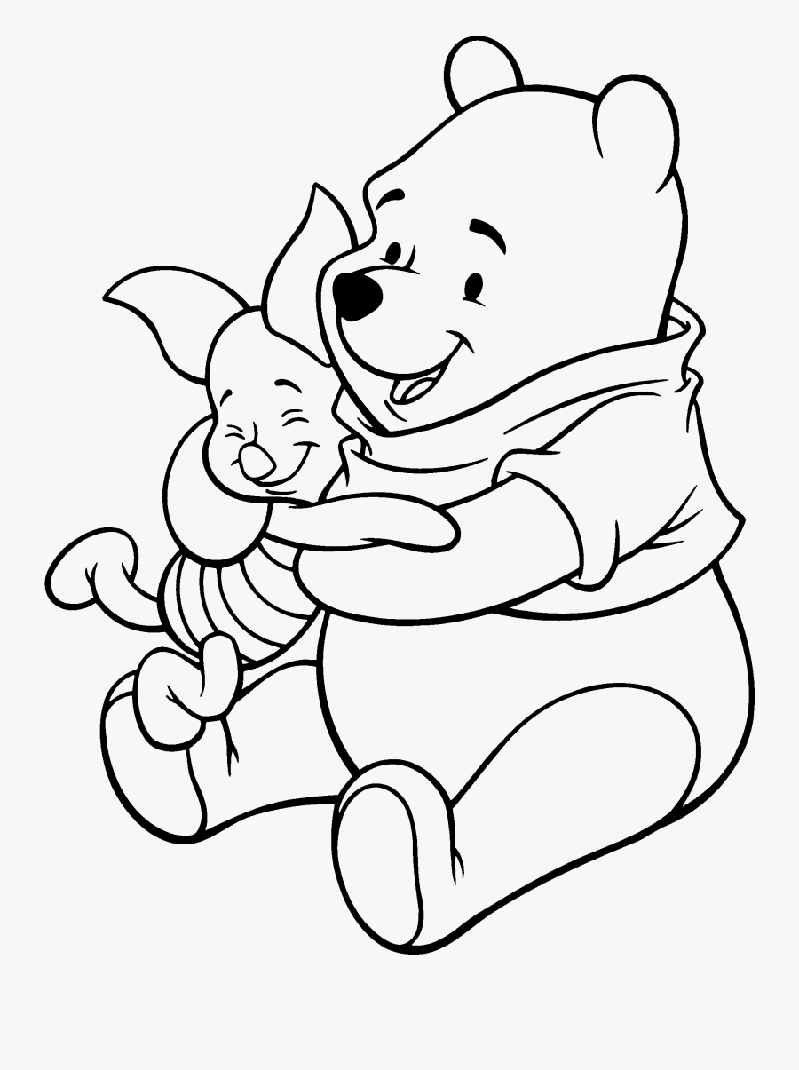 Adult Piglet Winnie The Pooh And Piglet Flying Heart - Winnie The Pooh And Piglet Drawings, Transparent Clipart
