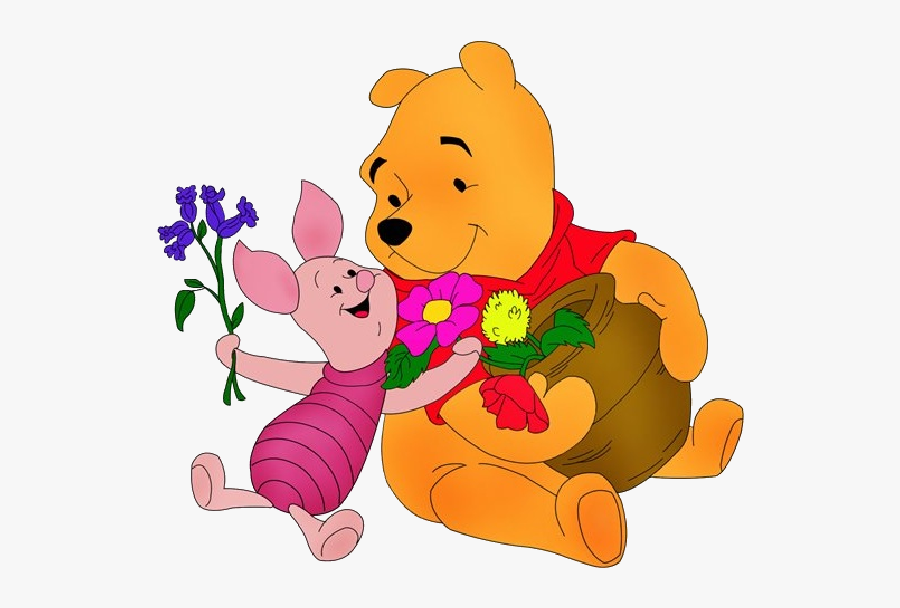 Winnie The Pooh Valentine Clip Art Images - Winnie The Pooh Coloring Pages, Transparent Clipart
