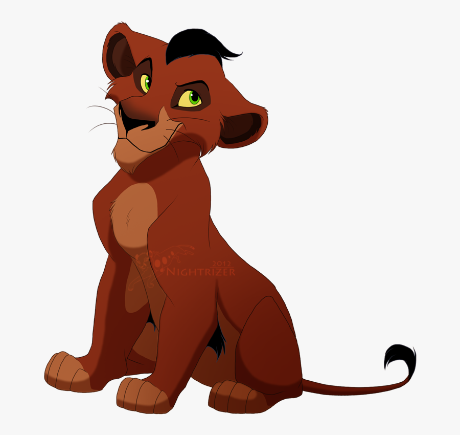 Lk, A Young Lion Cub, - Lion King Taka Cub, Transparent Clipart