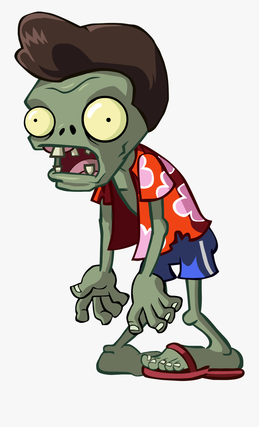 Thumb Image - Plants Vs Zombies 2 Characters Zombies, Transparent Clipart