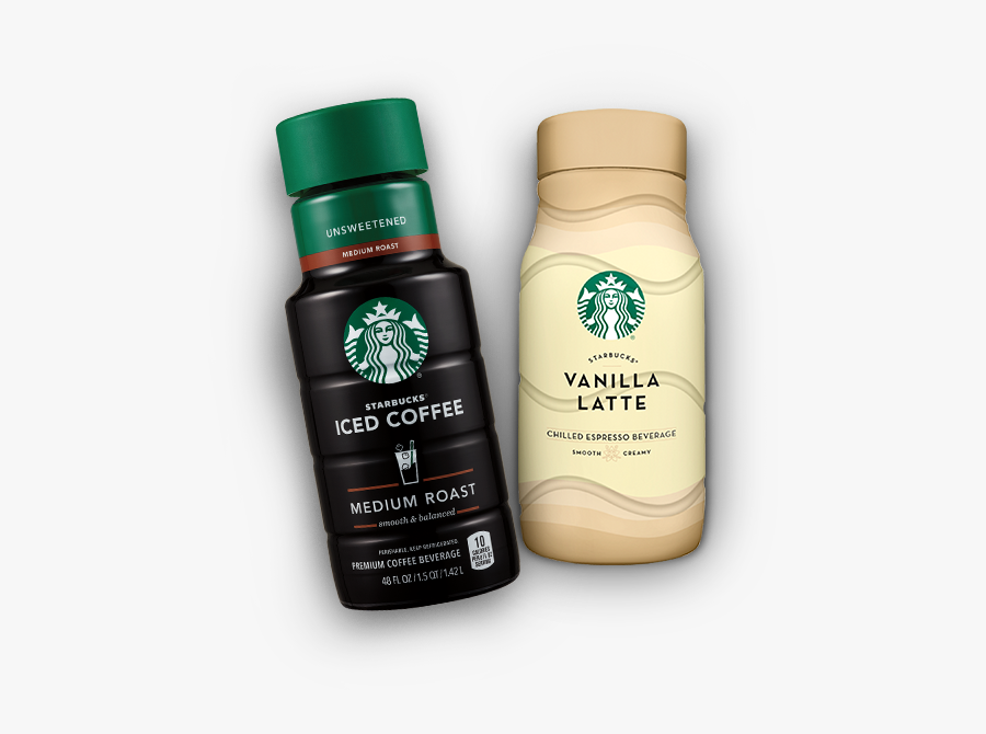 Transparent Starbucks Clipart - Starbucks Iced Coffee In Stores, Transparent Clipart