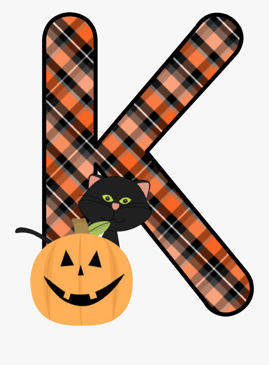 Plaid Clipart Pumpkin - Cute Halloween Transparent, Transparent Clipart