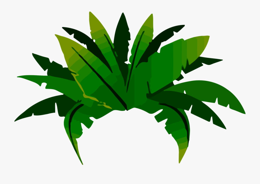 Plant,leaf,arecales - Amazon Rain Forest Leaf Cartoon, Transparent Clipart