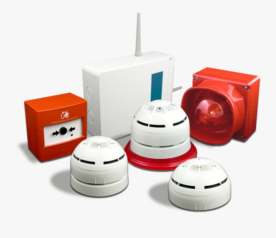 Product,security Alarm,alarm Device,fire Alarm System,sensor,smoke - Fire Alarm Detection System, Transparent Clipart