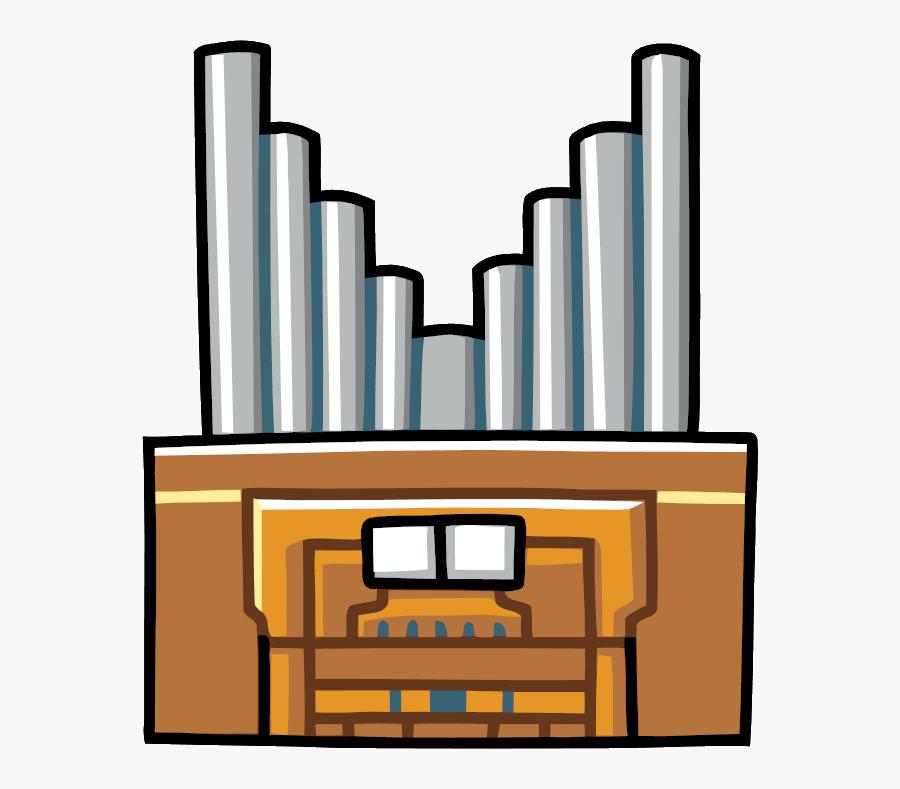 Organ Pipe - Scribblenauts Organ, Transparent Clipart