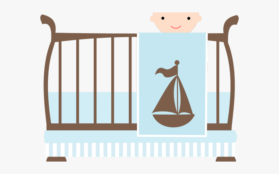 Baby Girl Clipart Crib - Boy Baby Shower Save The Date, Transparent Clipart