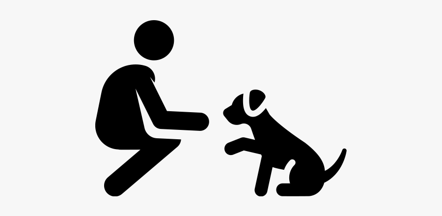 Transparent Background Dog Training Icon, Transparent Clipart