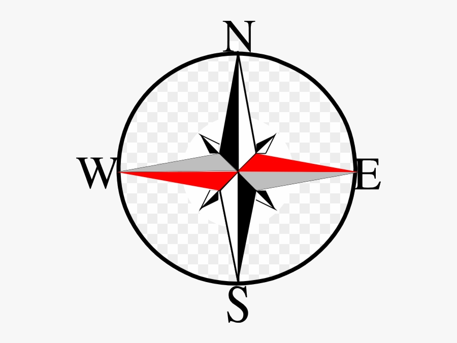 Compass South Clipart East West North Logo Transparent - North South East West Logo, Transparent Clipart