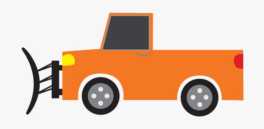 Snow Truck, Snow Plow, Snow, Plow, Machine, Winter - Snow Plow Graphic, Transparent Clipart