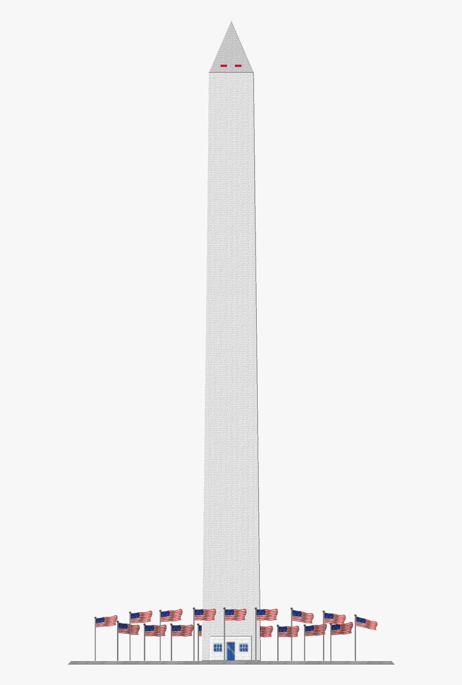 Washington Monument Transparent Background, Transparent Clipart