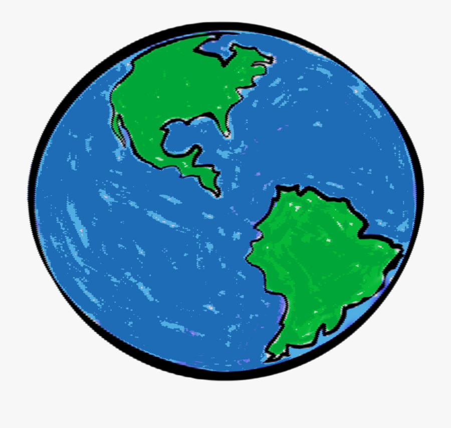 Rotation & Revolution Of The Earth - Earth, Transparent Clipart