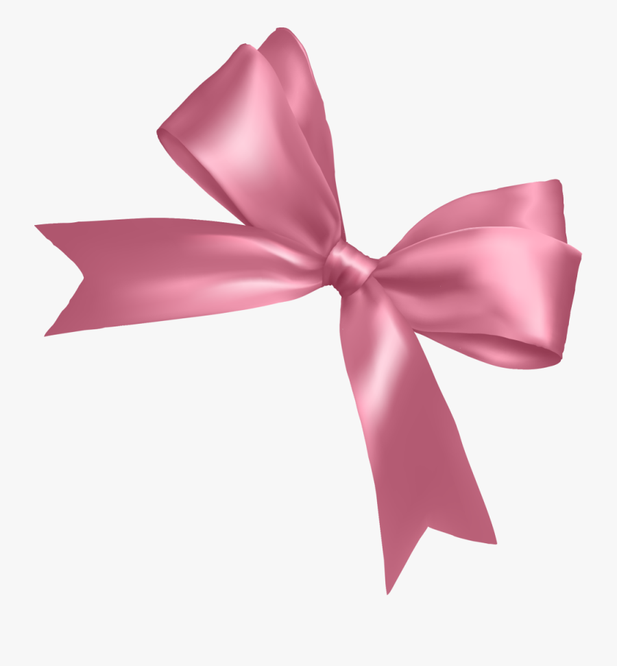 Pink Ribbon Pink Ribbon Shoelace Knot - Transparent Background Pink Bow, Transparent Clipart