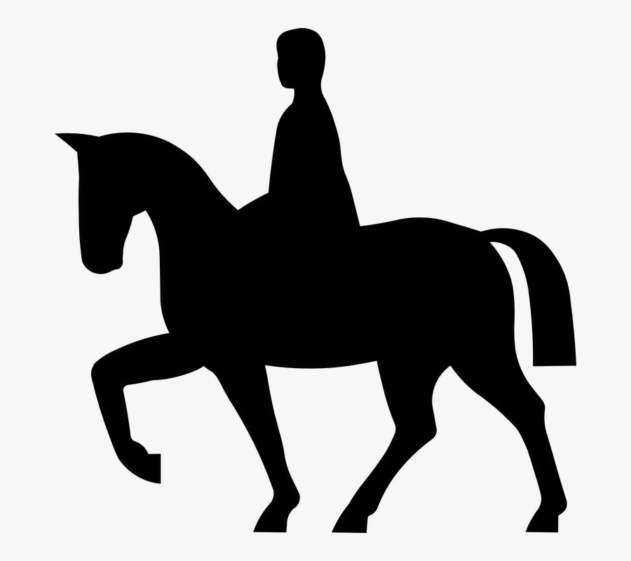 Horse, Rider, Equestrian, Animal, Sport, Stallion - Horse Rider Icon, Transparent Clipart