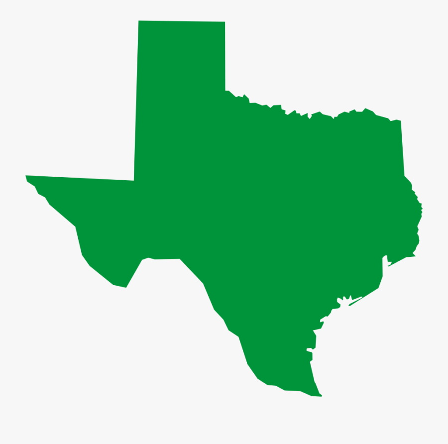 Texas Green Clipart , Png Download - Texas Political Map 2017, Transparent Clipart