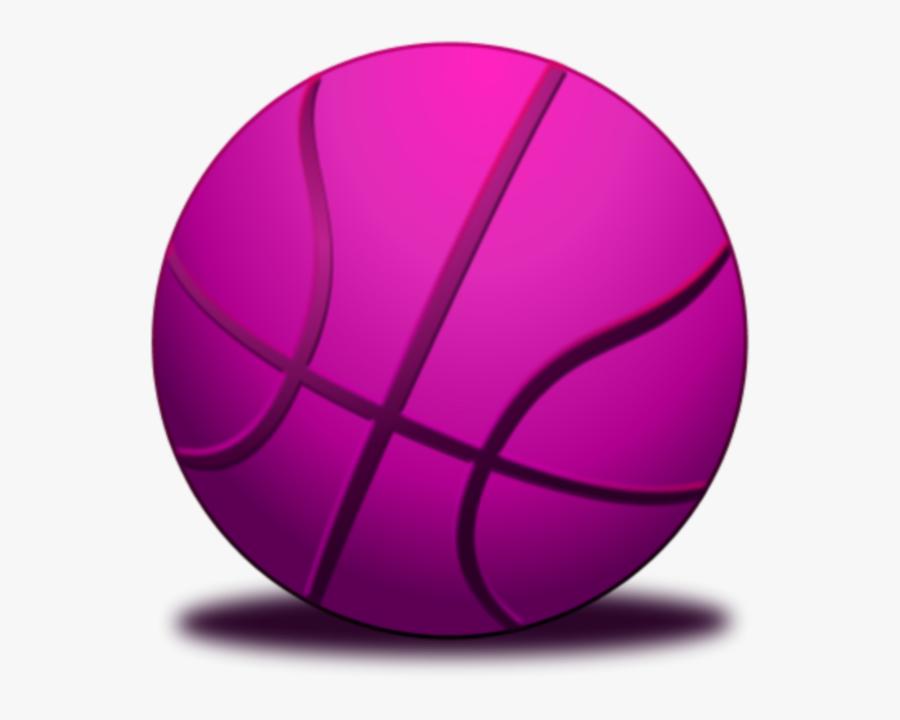 Purple Basketball Clipart - Basketball Ball Green Colour, Transparent Clipart