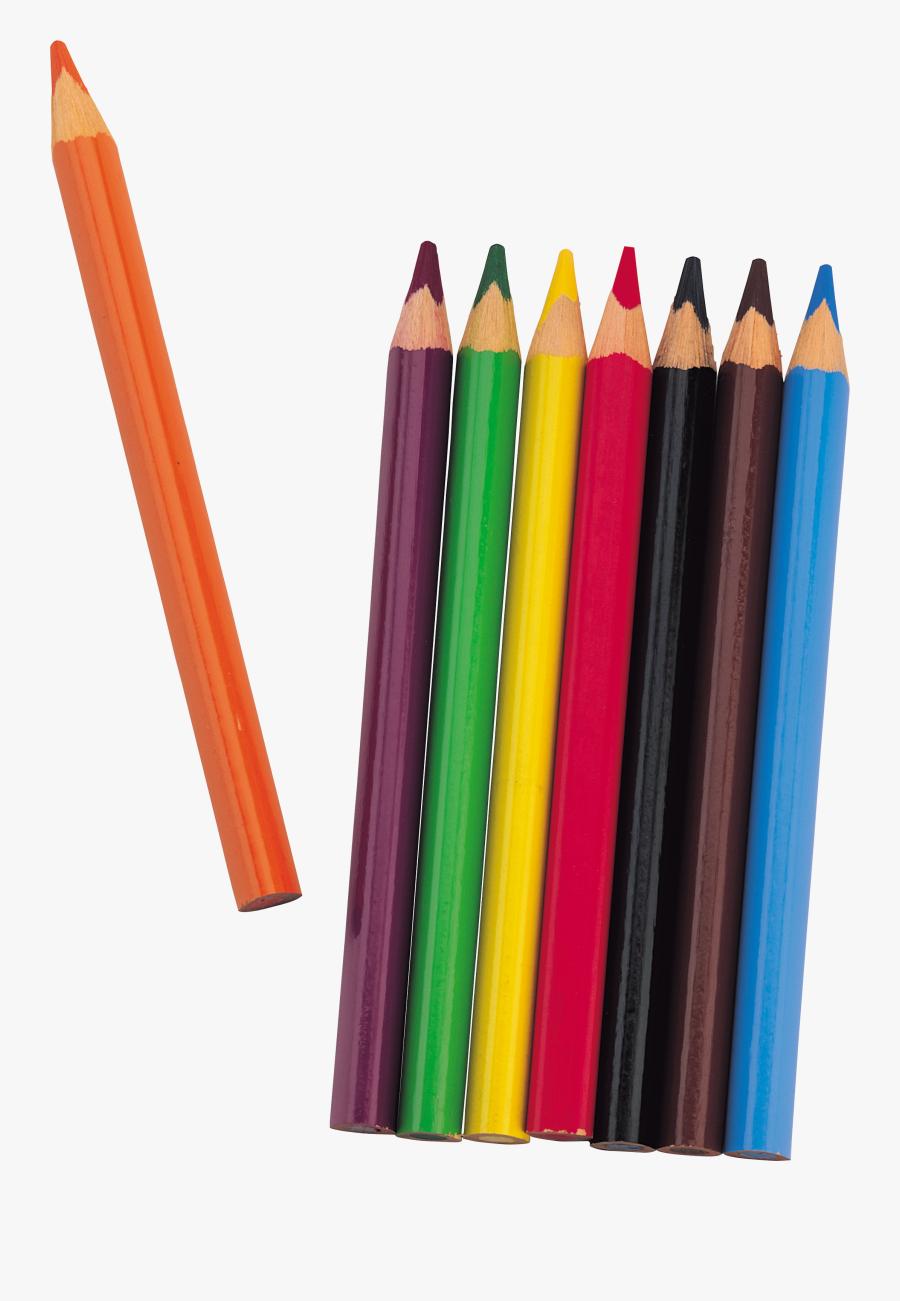Colorful Pencils Png Image - Transparent Color Pencil Png, Transparent Clipart