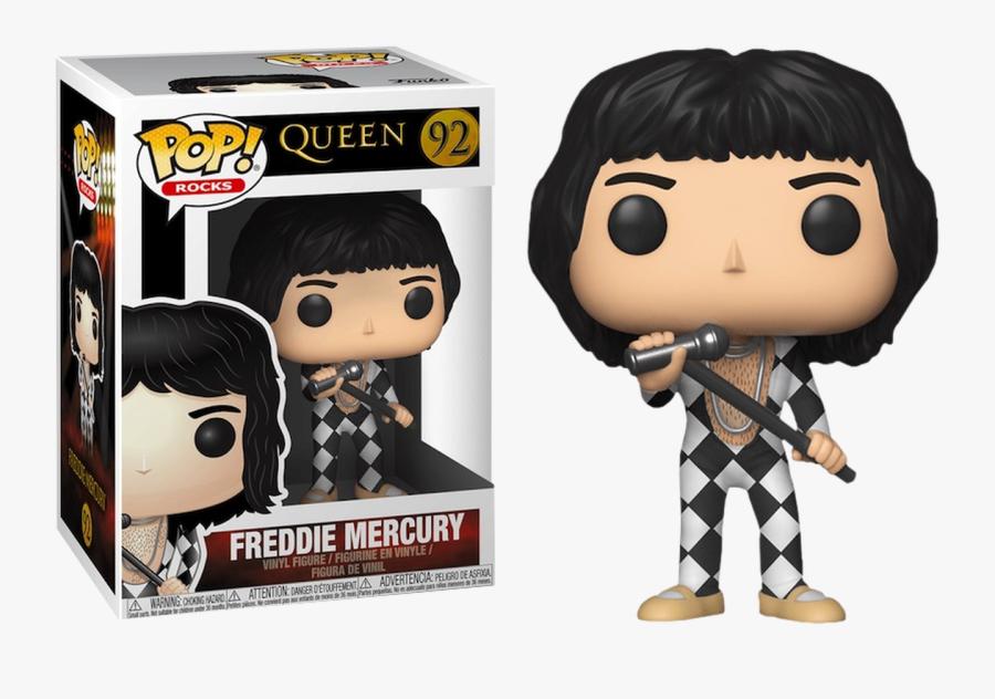 Freddie Mercury Us Exclusive Pop Vinyl Figure - Freddie Mercury Pop Vinyl, Transparent Clipart