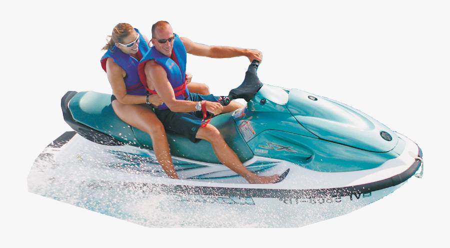 Jet Ski Background Png - Man On Jet Ski Png, Transparent Clipart