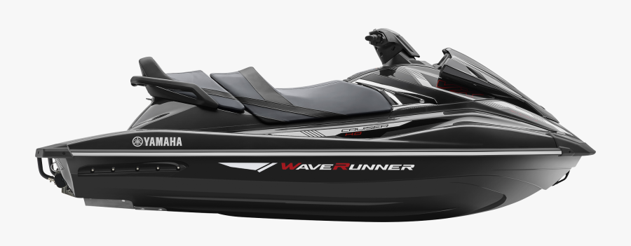 Black Jet Ski - 2017 Yamaha Waverunner Vx, Transparent Clipart