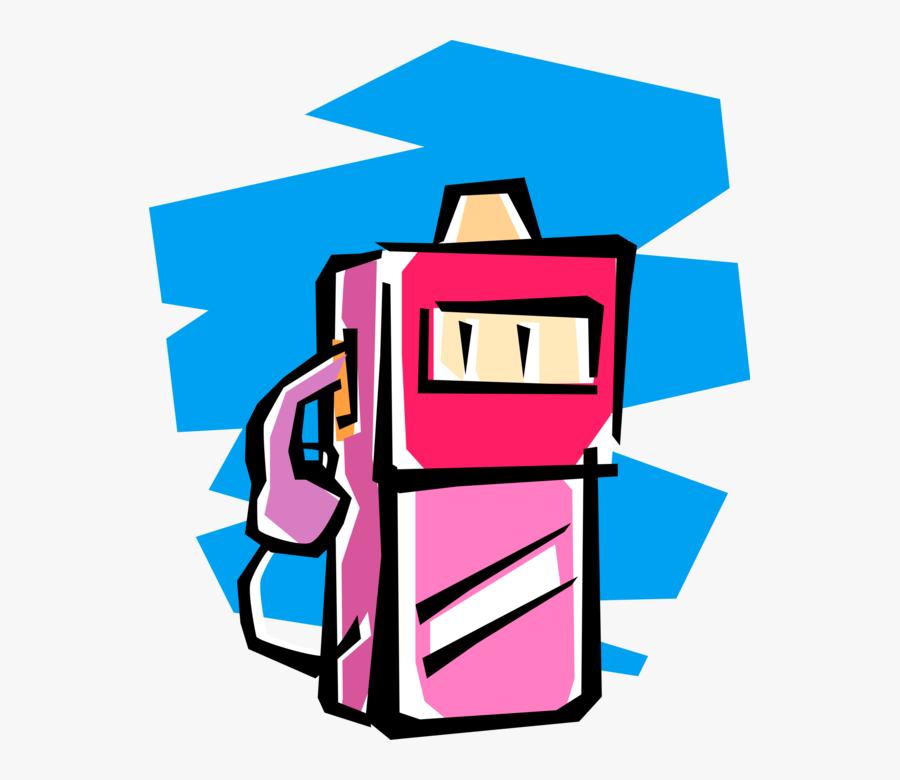Vector Illustration Of Gasoline Petroleum Fossil Fuel, Transparent Clipart