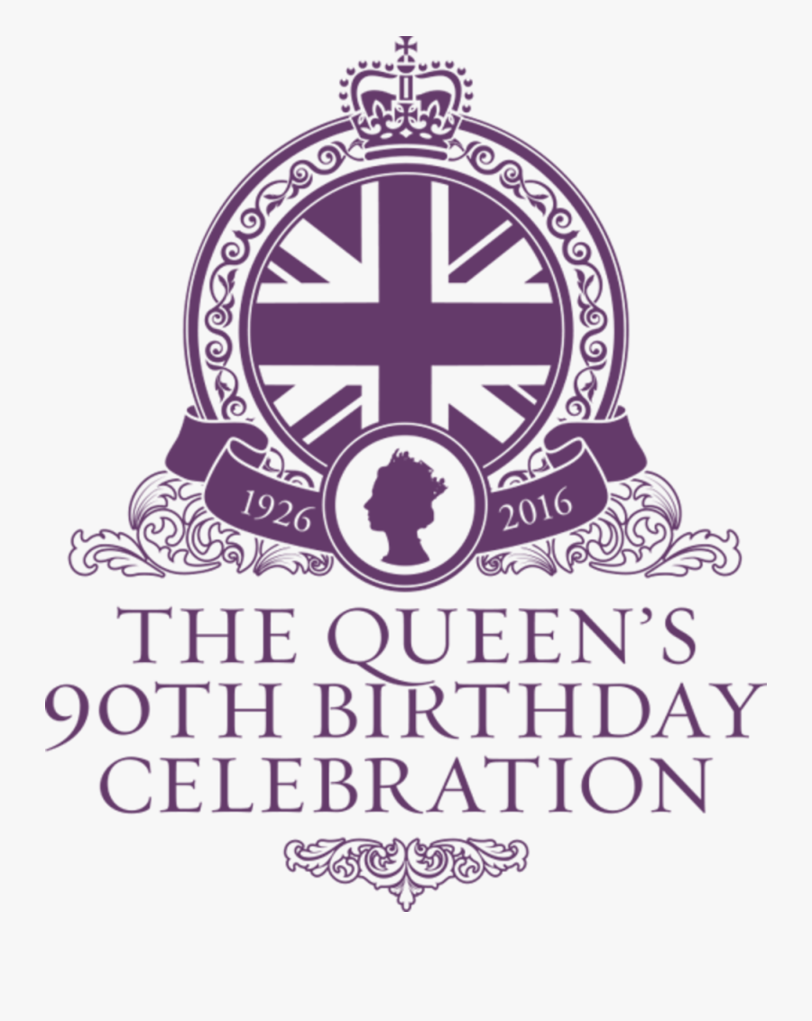 Thursday 9th June - Queen's 90th Birthday Celebration, Transparent Clipart