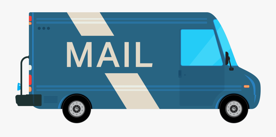 Direct Mail Services In Reading Rtc Direct Mailing - Commercial Vehicle, Transparent Clipart