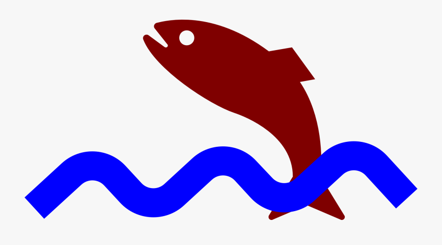 Fish, Jumping, Water, Animal, Waves, Sea Life - Animated Fish Jumping Out Of Water, Transparent Clipart