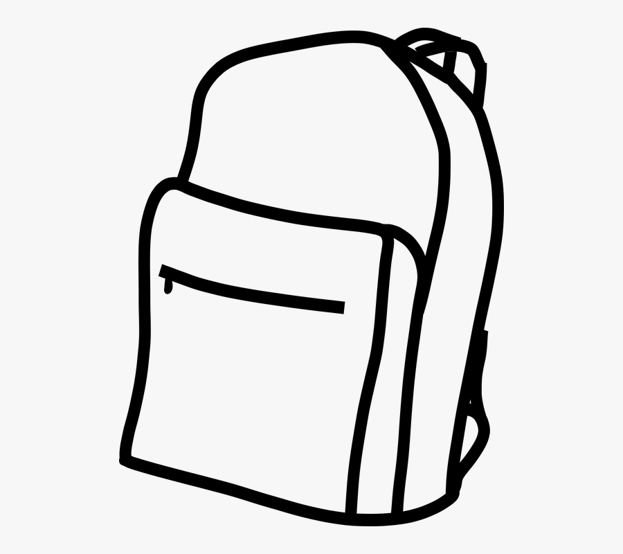 Broward County Schools In Florida Now Has A New District-wide - Backpack Clipart Black And White, Transparent Clipart
