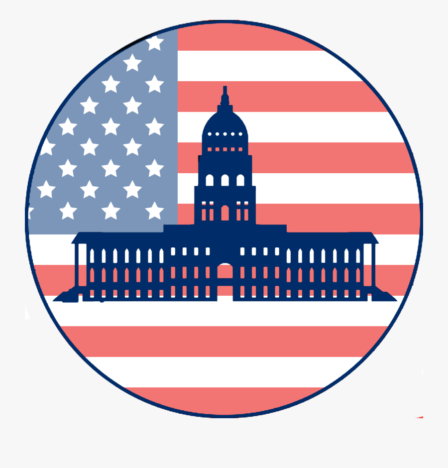 Us State Capitol Buildings - Usa We Re Number 1, Transparent Clipart