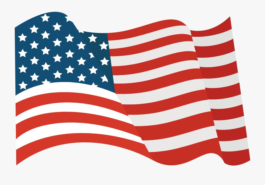 Tattoo United Of National Flying States Flag Clipart - Bandera Estados Unidos Png, Transparent Clipart