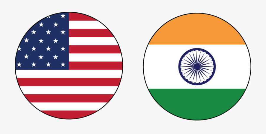Technosoft Employs Experienced Global Sap Experts To - United States Of America Round Flag, Transparent Clipart