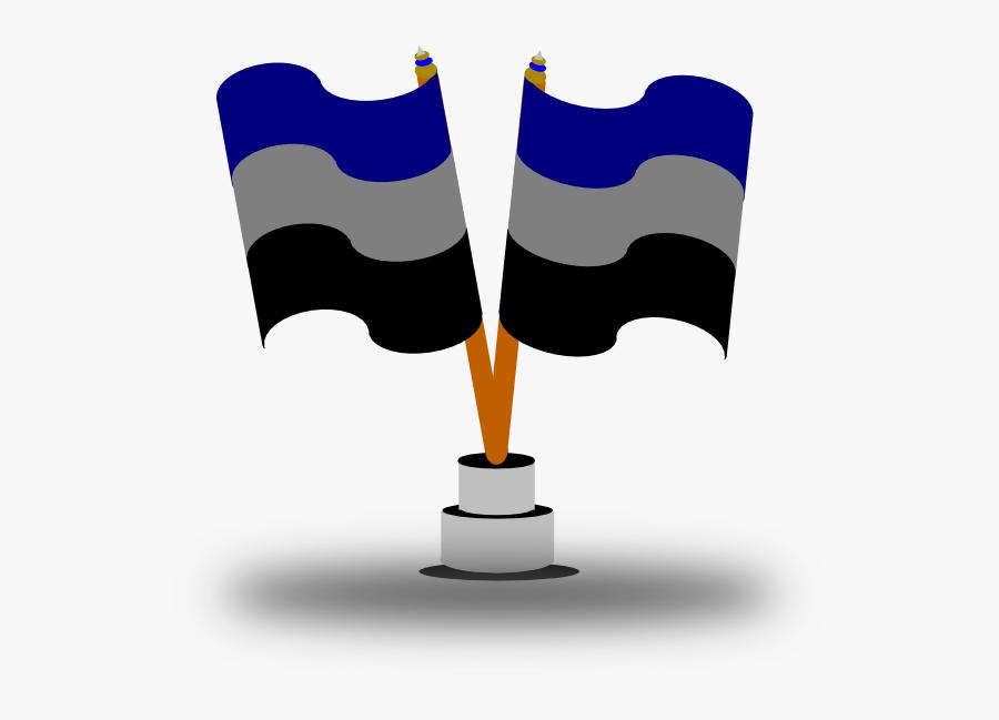 Flag Svg Clip Arts - National Flag In Cartoon, Transparent Clipart