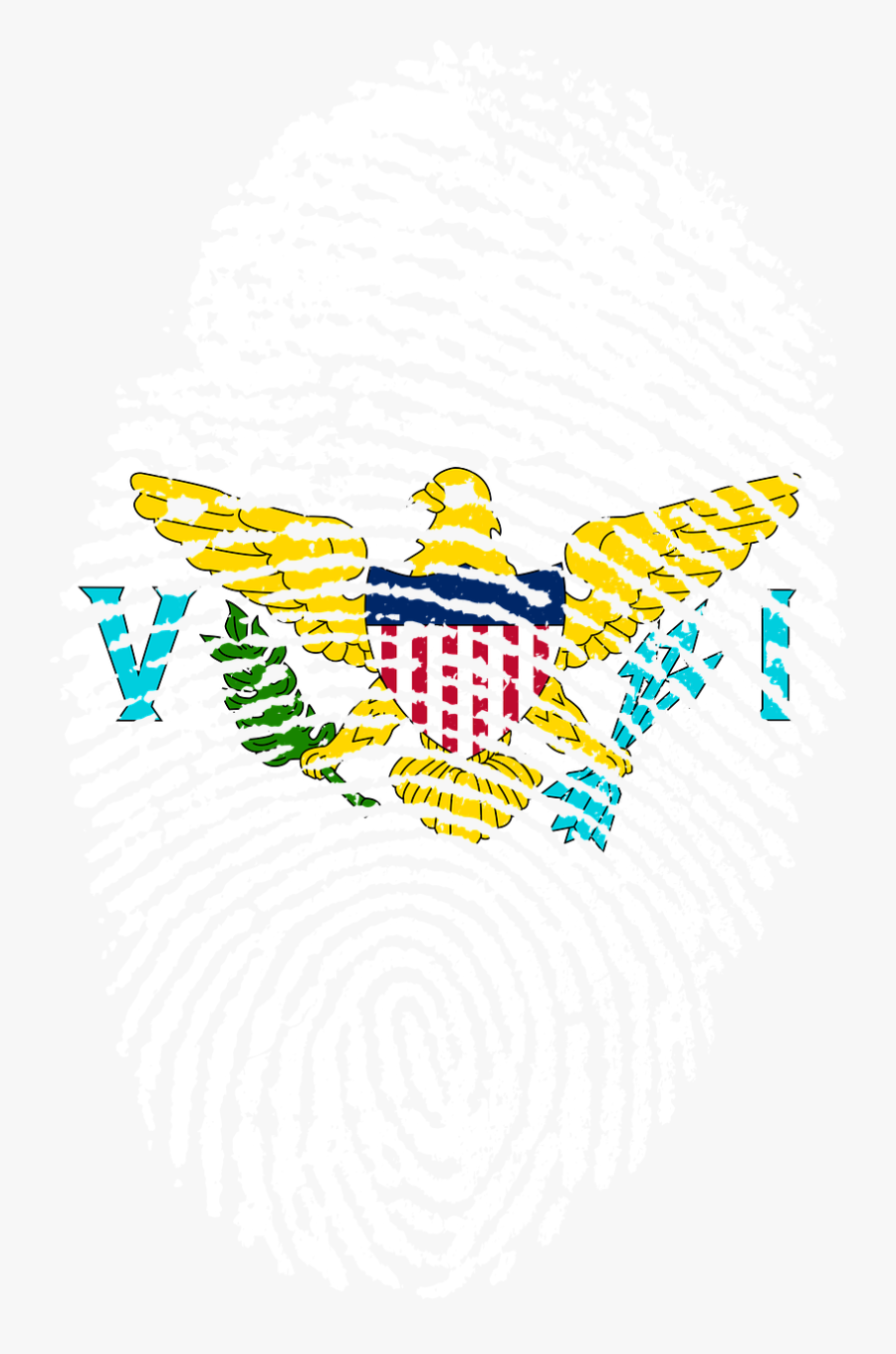 Flag Of The United States Virgin Islands, Transparent Clipart