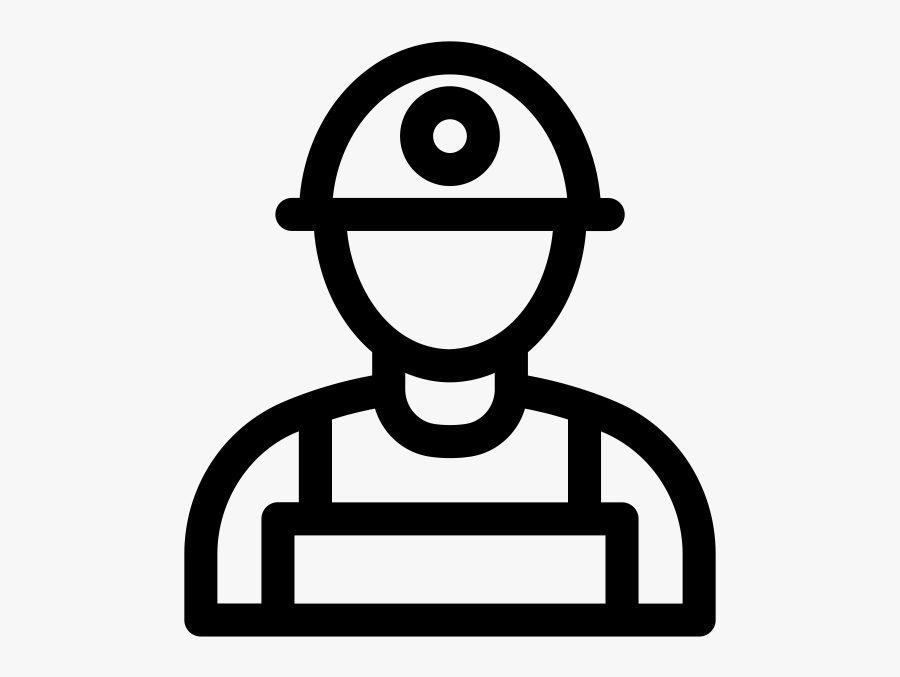 Miner Icon Clipart , Png Download - Mine Worker Icon, Transparent Clipart