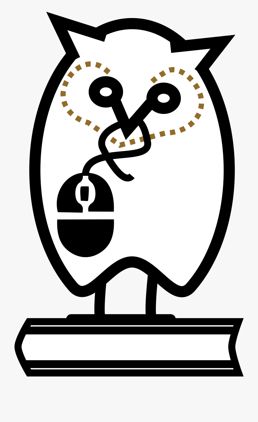Old Clipart Librarian - Wikipedia Library, Transparent Clipart