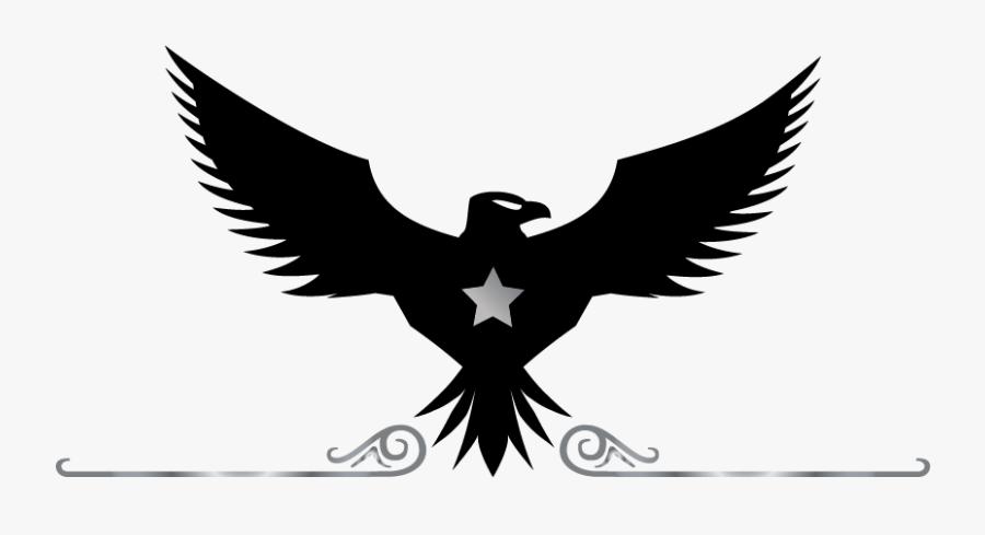 Clip Art Free Creator Online Templates - Black Logo Eagle Png, Transparent Clipart