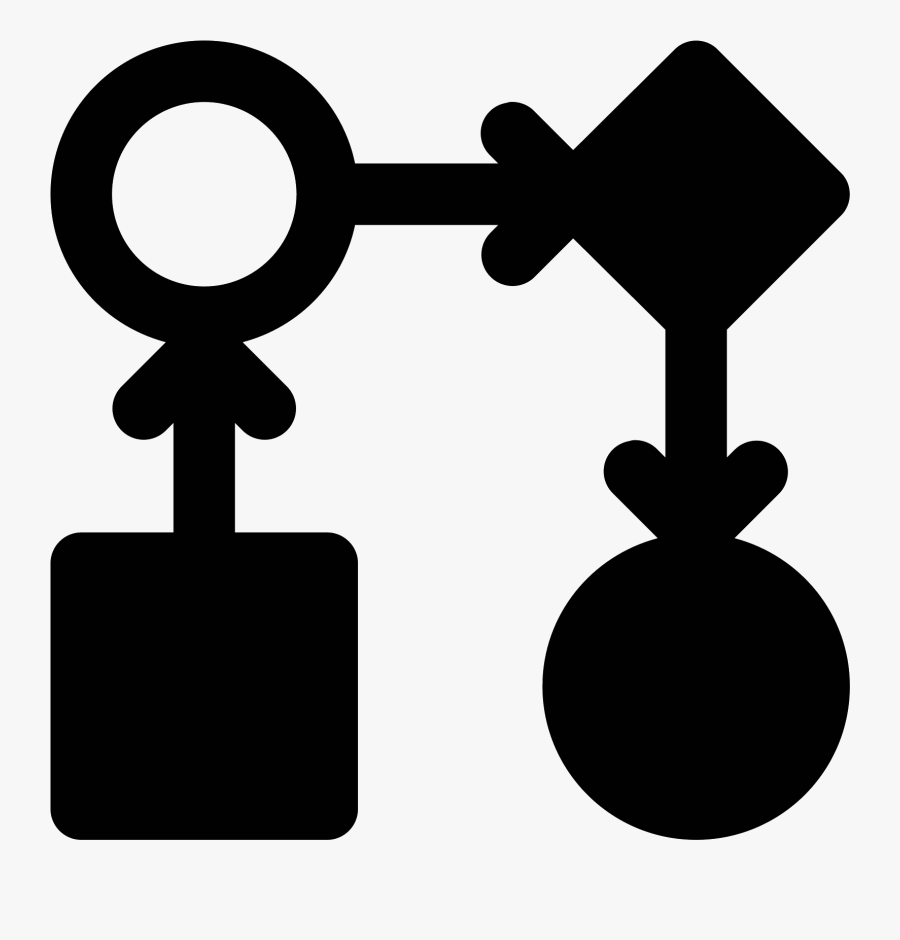 This Icon Represents Workflow And Takes The Form Of - Workflow Clipart, Transparent Clipart